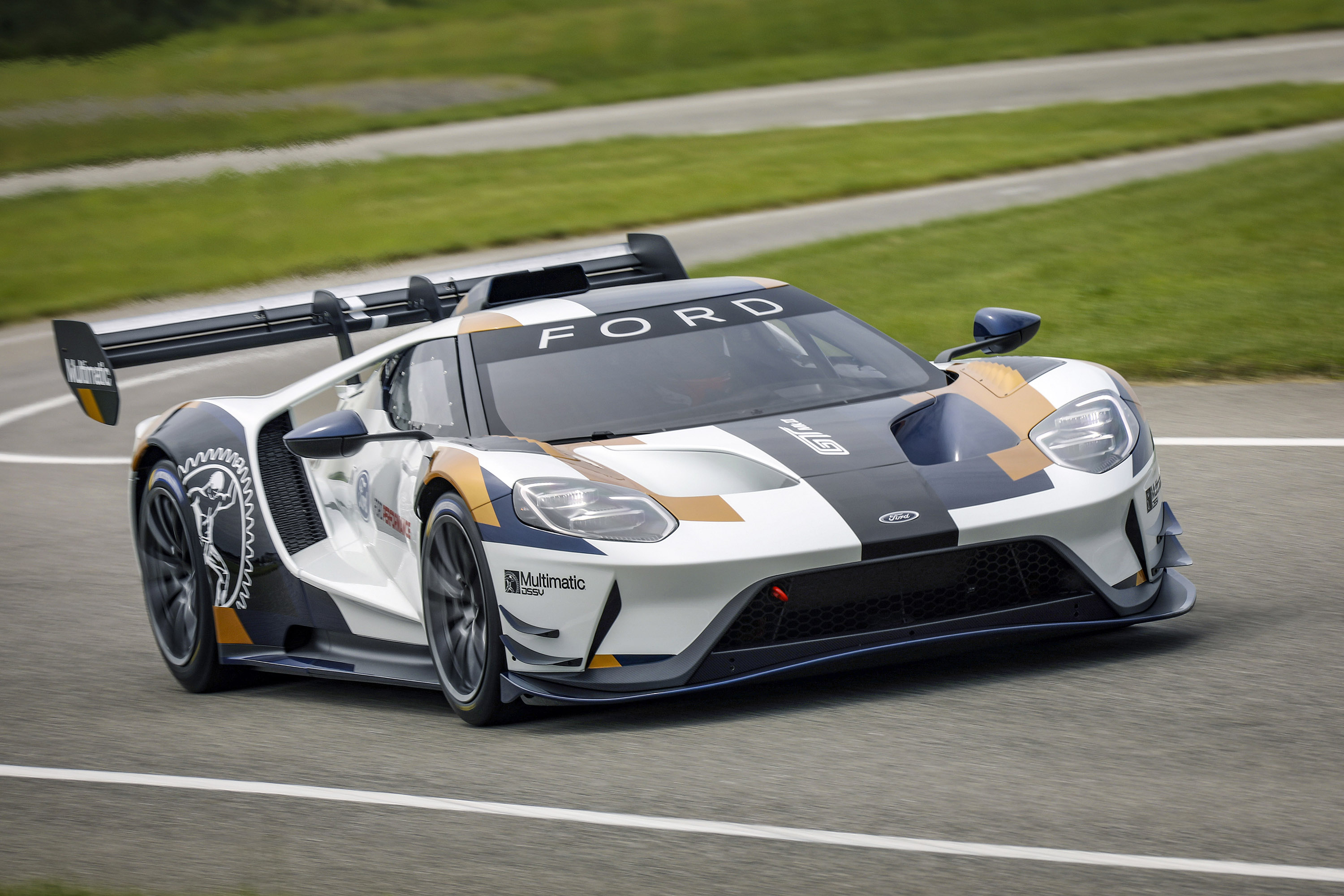 Ford GT Mark II Driving
