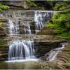Buttermilk Falls Cascades at Pinnacle Rock_Ellen Stein_Open A_Honorable Mention