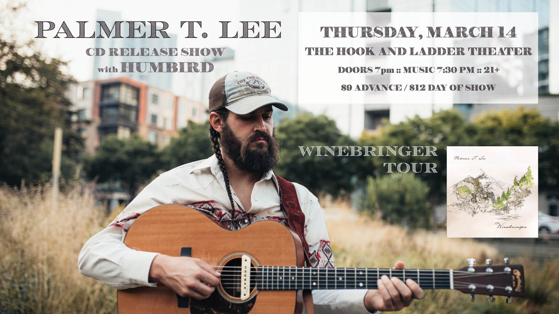 Palmer T. Lee- CD Release Show with special guest Humbird