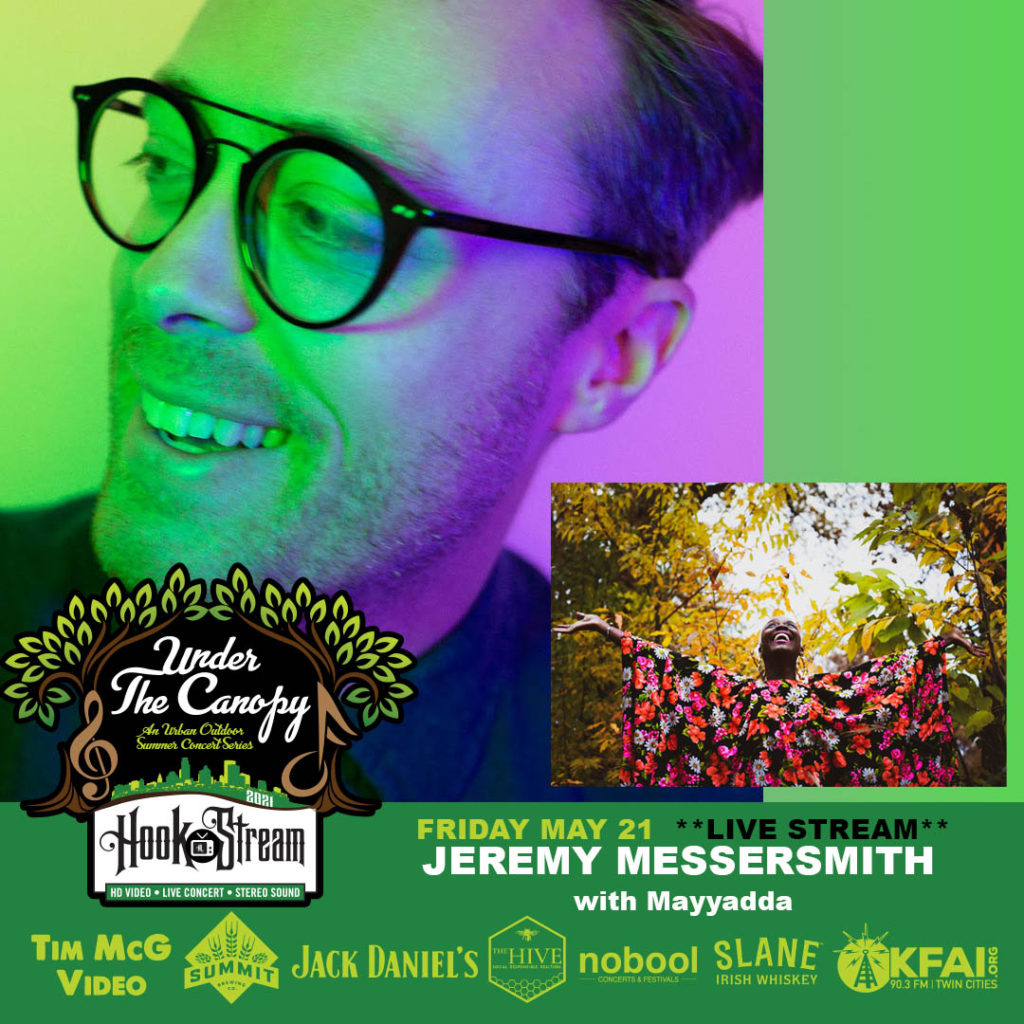 #HookStream - Jeremy Messersmith with Mayyadda - Under The Canopy at The Hook and Ladder Theater - Friday, May 21