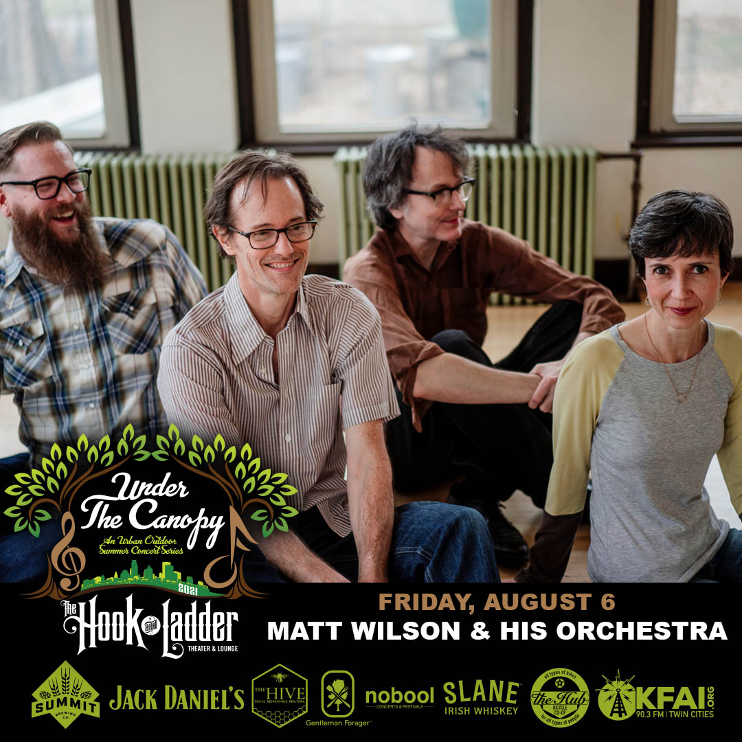 Matt Wilson and His Orchestra - Under The Canopy at The Hook and Ladder Theater - Friday, August 6