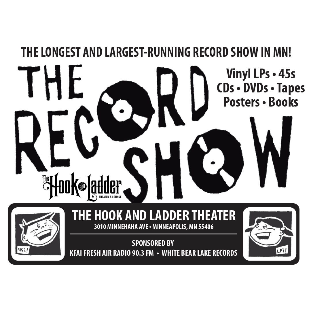 The Record Show at The Hook!