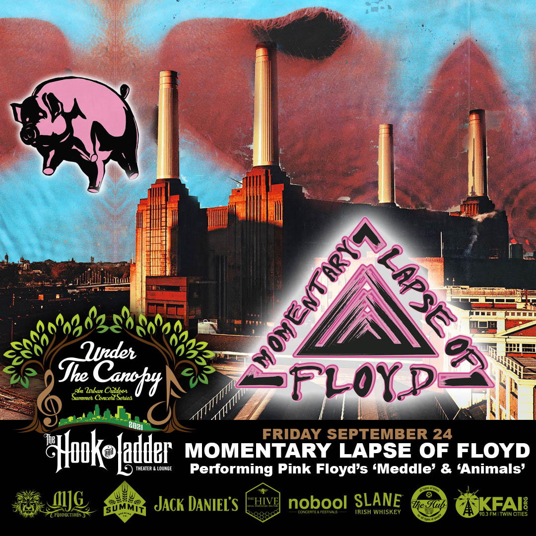 Momentary Lapse of Floyd - Friday, September 24 - Under The Canopy at The Hook and Ladder Theater