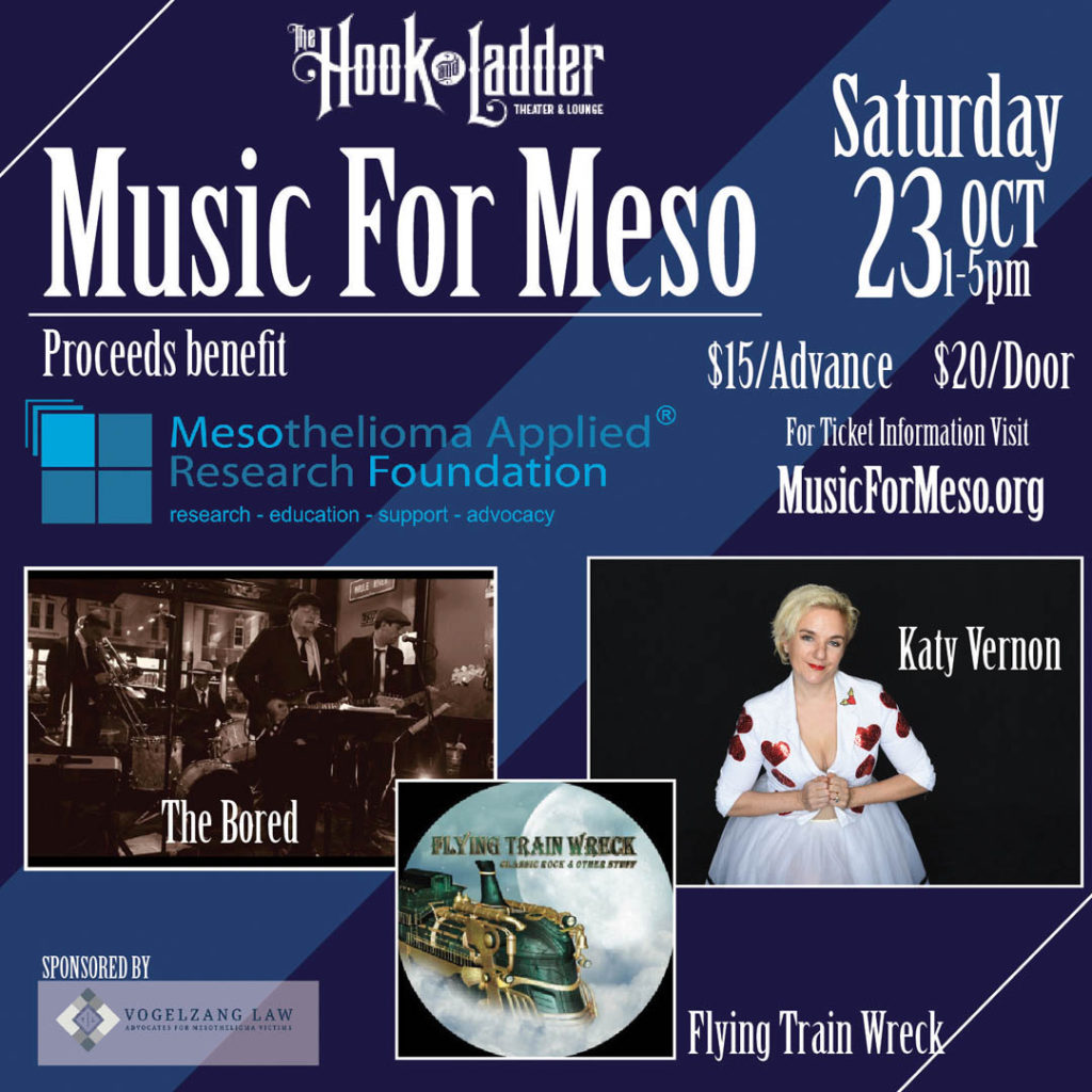 Music For Meso - October 23 at The Hook