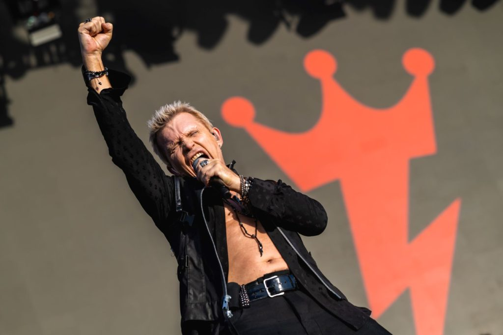 Billy Idol at KAABOO Alive Coverage