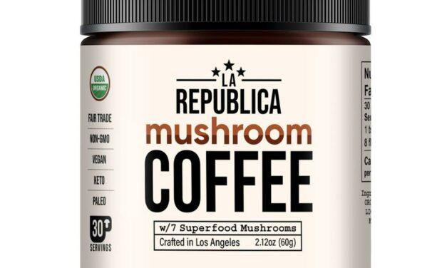 The Cannapolitan Review- La Republica Mushroom Coffee