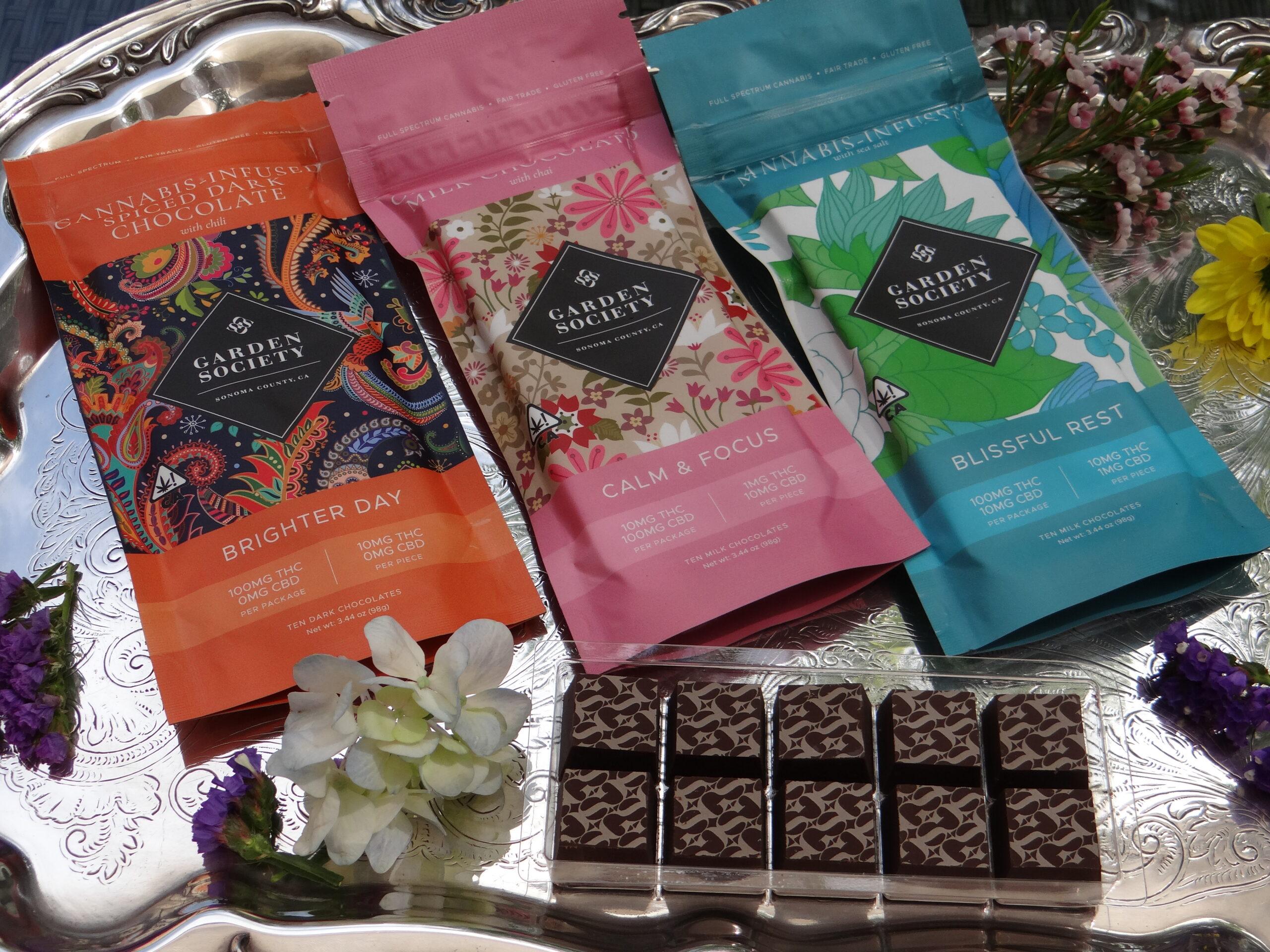 Garden Society Cannabis Chocolates