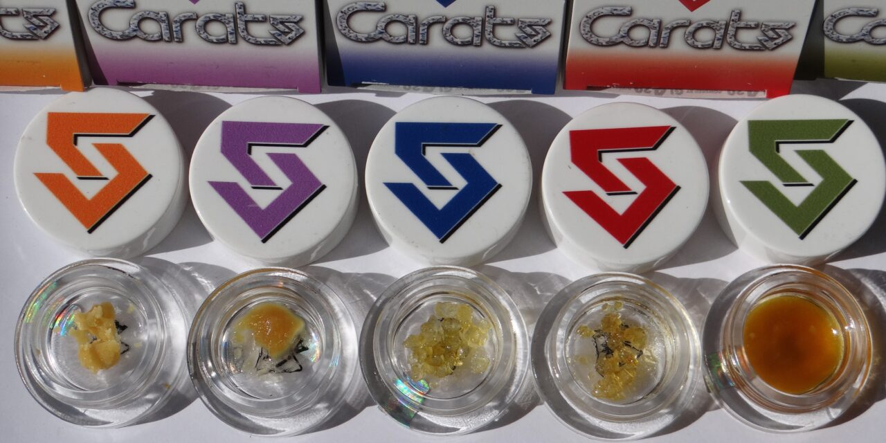 5 Carats Live Resin Diamonds & Batters