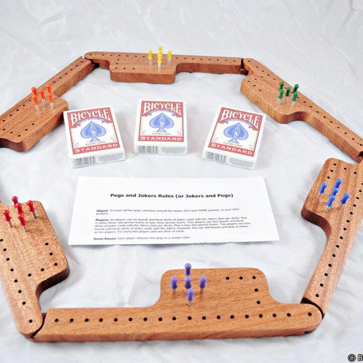 Pegs & Jokers Game Set - Khaya