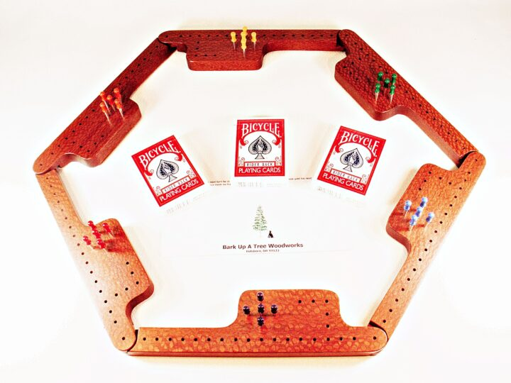 Pegs & Jokers Game Set - Leopardwood