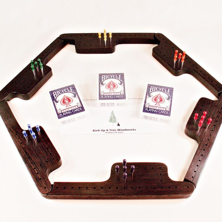 Pegs & Jokers Game Set - Wenge