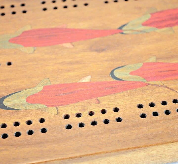 Inlay Cribbage Boards