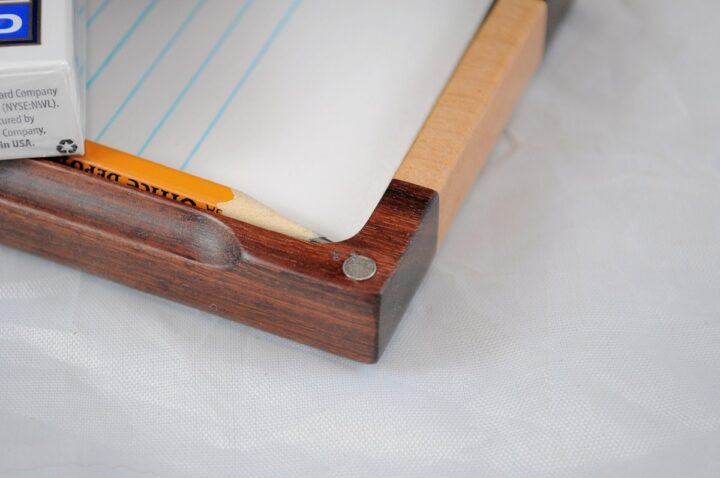 Playing Card Case #61 - Granadillo & Curly Maple Magnet