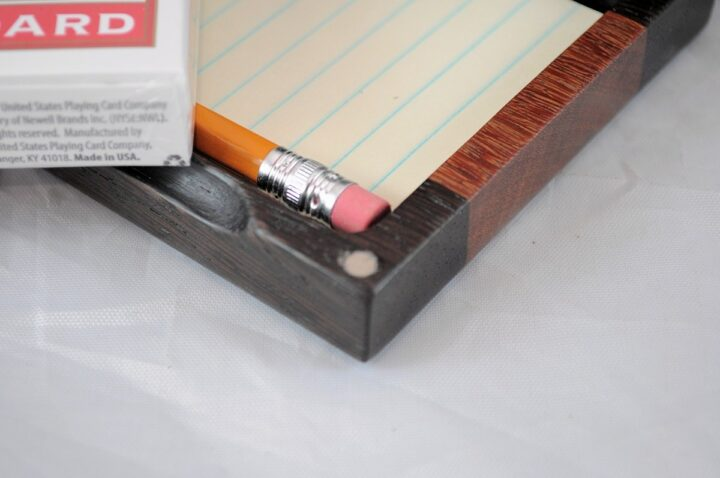 Playing Card Case #63 - Wenge & Cumaru Magnets