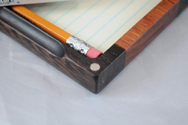 Playing Card Case #67 - Wenge & Monkeywood Magnets