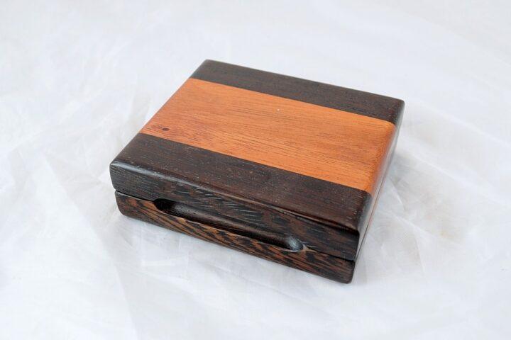 Playing Card Case #67 - Wenge & Monkeywood