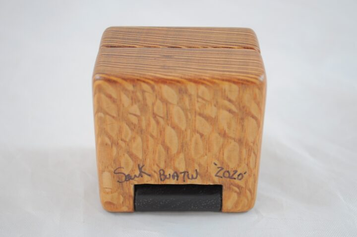Ring Box - Lacewood & Wenge - Bottom