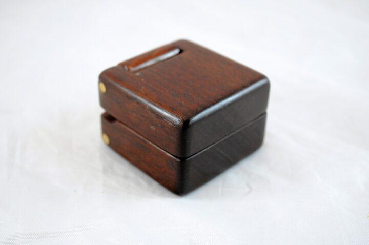 Ring Box - Peruvian Walnut & Jatoba