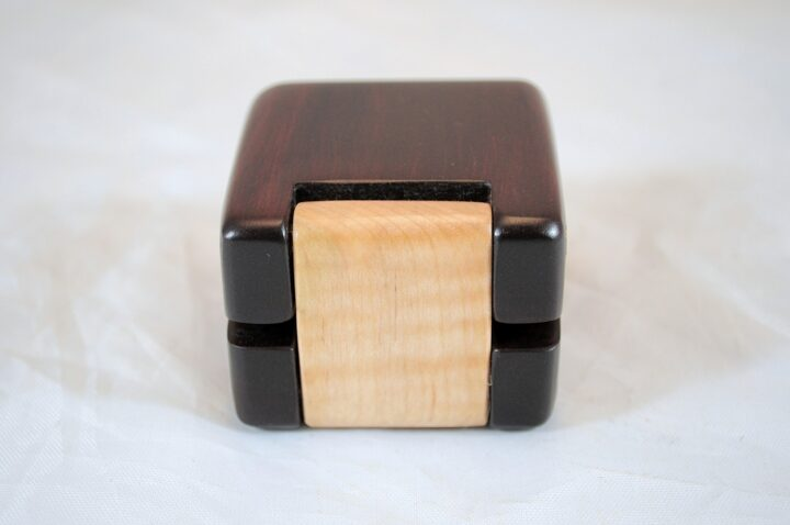 ERB-150 Bloodwood & Curly Soft Maple - Hinge