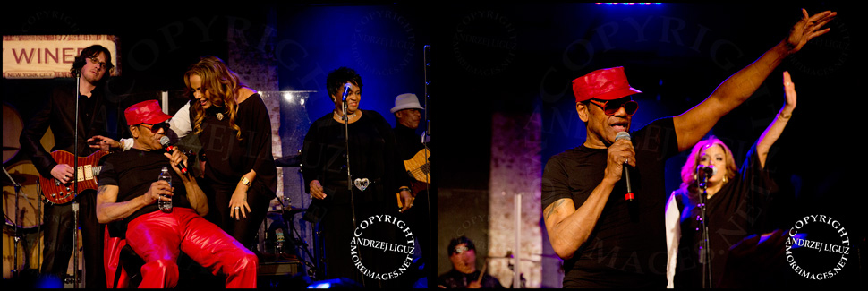 Bobby Womack performing with his daughter GinaRe at City Winery in NYC
