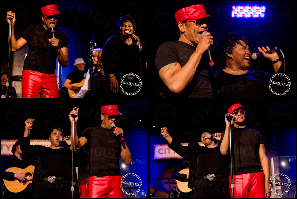 Bobby Womack performing with Alltrina Grayson at City Winery in NYC
