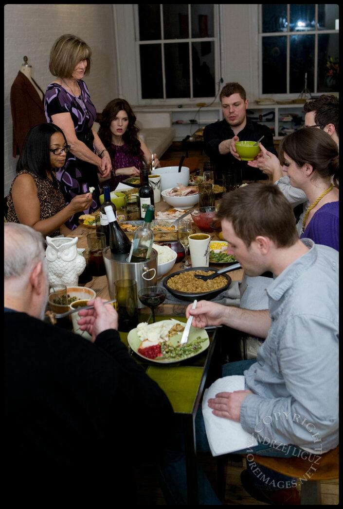 Thanksgiving Dinner, Soho, NYC, NY