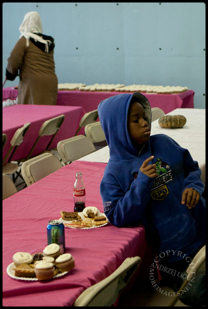 Post Hurricane Sandy Thanksgiving Dinner, Rockaway Beach, NY
