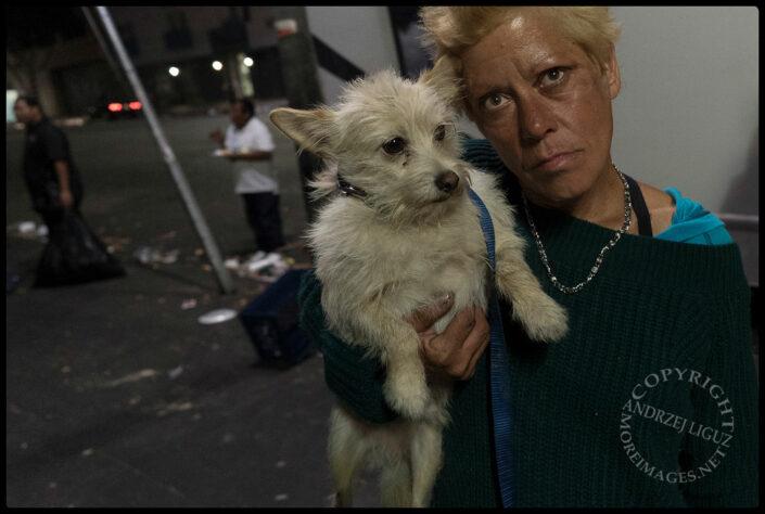 Homeless, Skid Row, LA, CA