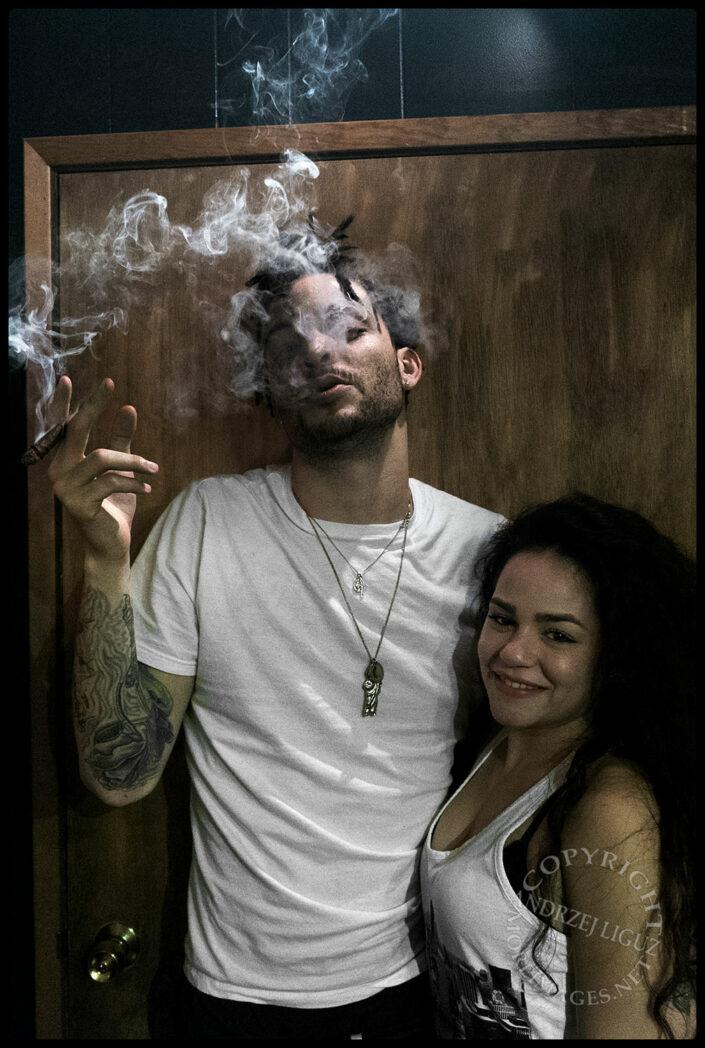 Smoking Blunts, South Central, LA, CA