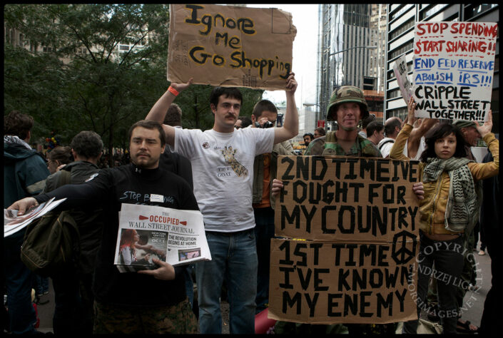 Occupy Wall St, Zuccotti Park, NYC, NY