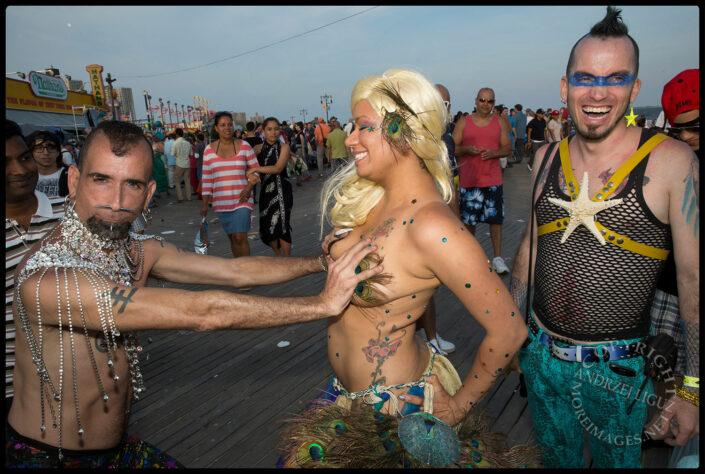 Mermaid Parade, Coney Island, Brooklyn, NY