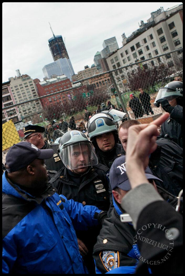 Occupy Wall St, Duarte Square, NYC, NY