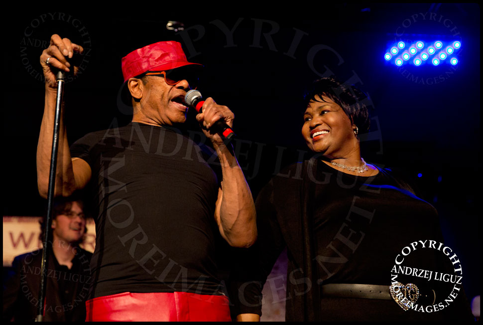 Bobby Womack performing with Alltrina Grayson at City Winery in NYC © Andrzej Liguz/moreimages.net. Not to be used without permission