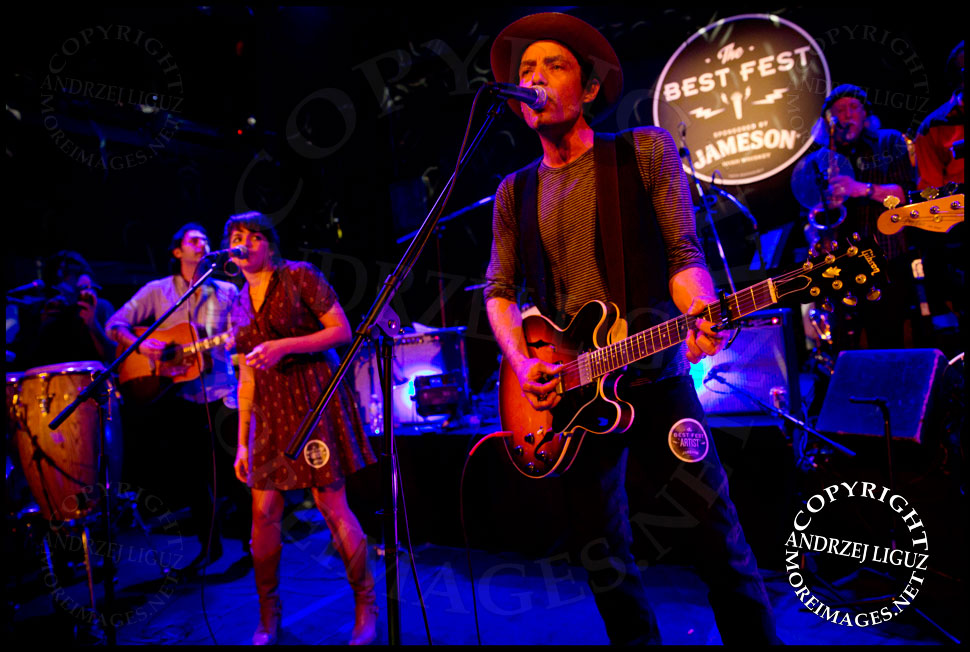 Jakob Dylan and Norah Jones performing Loving Cup © Andrzej Liguz/moreimages.net. Not to be used without permission