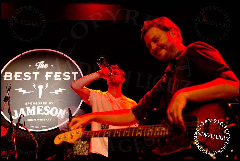 Matt Romano and Austin Scaggs sharing some whiskey © Andrzej Liguz/moreimages.net. Not to be used without permission