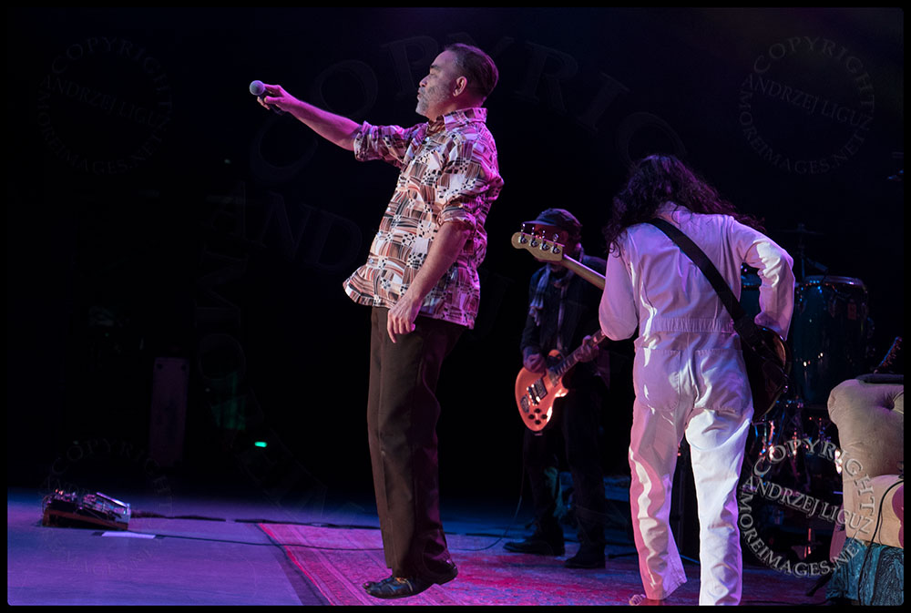 Frank Orral takes off at the Greek Theater in LA