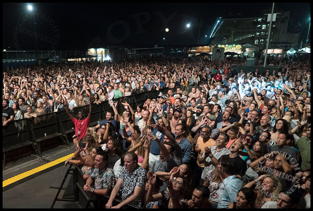 The appreciative audience at the San Diego County Fair.
