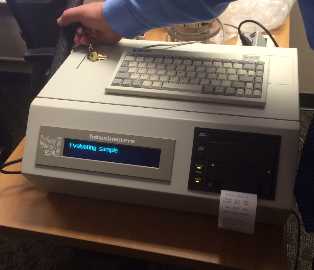 Indiana's New Breath Test Machine: The EC/IR II