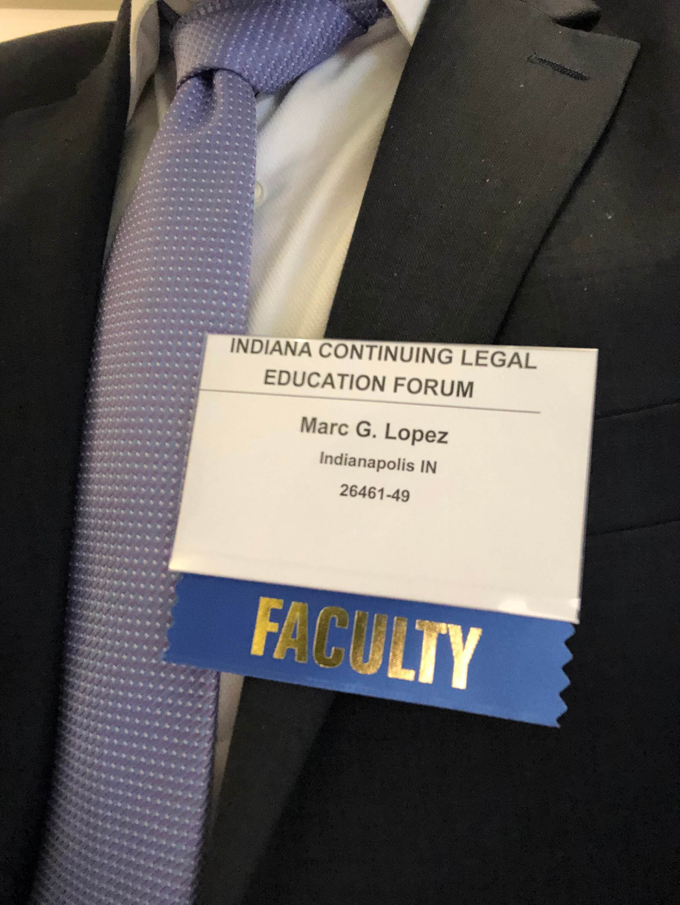 Attorney Marc Lopez Shares Knowledge, Warms Hearts at DUI Seminar