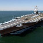 [미국시사] 48조원 가치 수퍼 항공모함 제네럴 포드호 취역. 2021년까지 태평양 보낼 것.