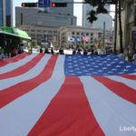 [사진] 태극기 거리 대행진 행진