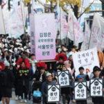 [시사] 드디어 광화문에 등장한 '주한미군철수', '김정은 서울 환영'
