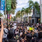 LA 통행금지 취소…대체로 시위 평화로워