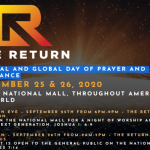 워싱턴DC 회개기도회 · 기도행진 한인들도 함께 한다
