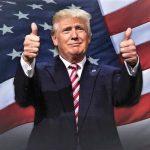 트럼프의 '엄지 척 인사법'