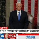 미 의회, 조 바이든 대통령 당선 인증