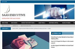 digital magazine focused on the world of SaaS software