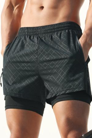 Men-2-in-1-Running-Shorts-Pockets-Compression-Liner-Gym-Training-Fitness-Workout-Short