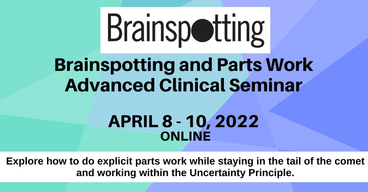 parts work cynthia schwartzberg david grand brainspotting
