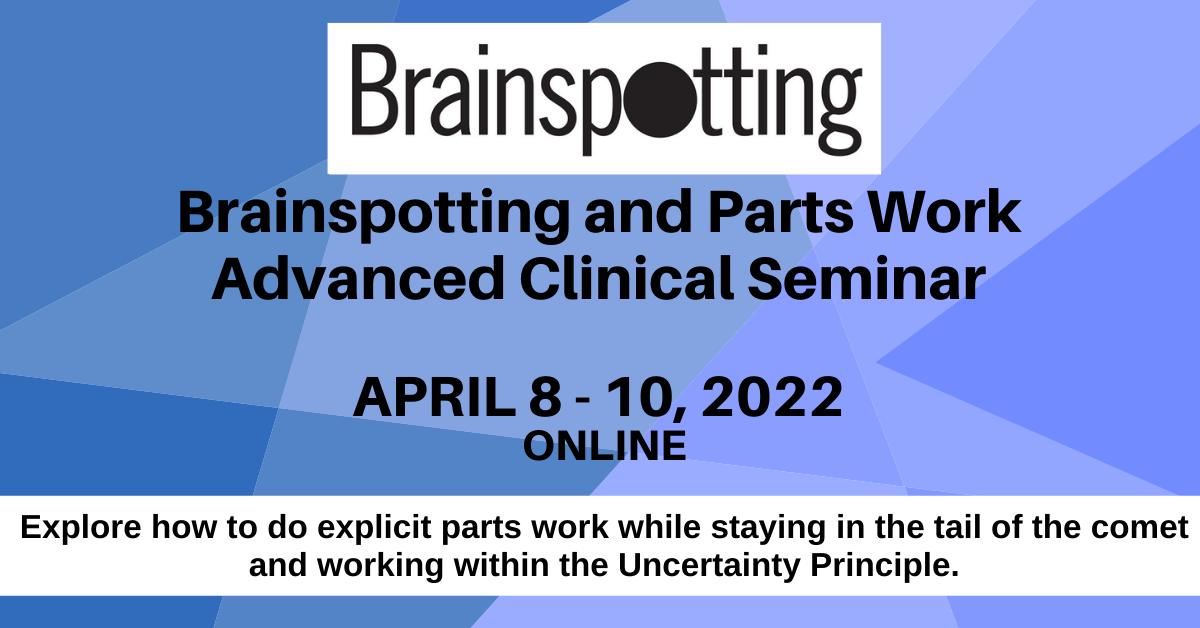parts work training cynthia schwartzberg david grand brainspotting